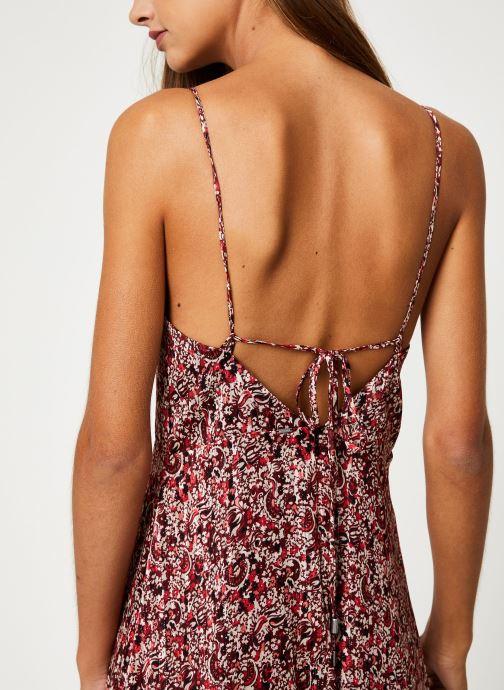 Vêtements IKKS Women Robe Longue Imprimée BP30515 Rouge vue face