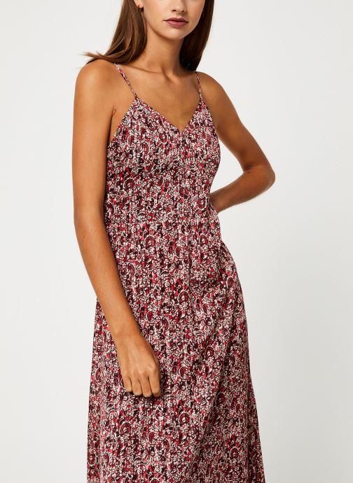 Vêtements IKKS Women Robe Longue Imprimée BP30515 Rouge vue détail/paire
