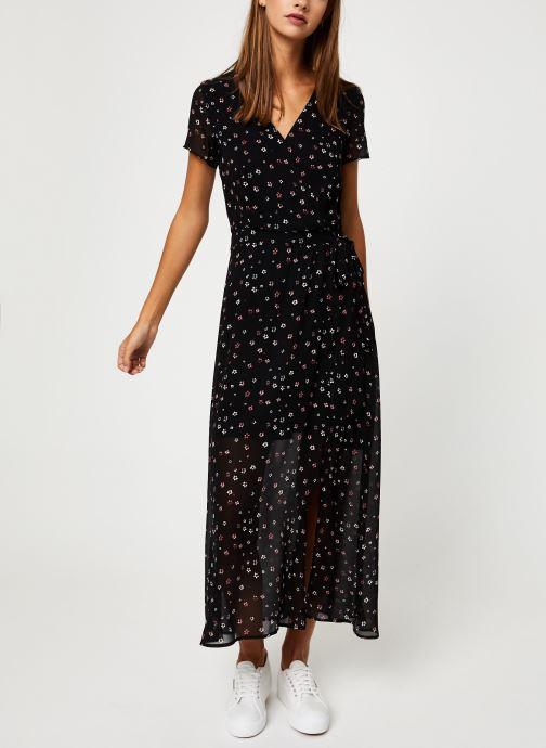 Vêtements IKKS Women Robe Longue Fleurie BP30535 Noir vue bas / vue portée sac