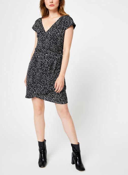 Vêtements IKKS Women Robe imprimé Animal BP30585 Noir vue bas / vue portée sac