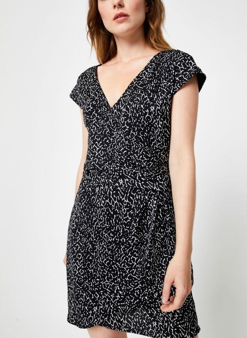 Vêtements IKKS Women Robe imprimé Animal BP30585 Noir vue droite