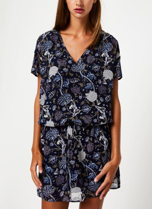 Vêtements IKKS Women Robe MC BP30675 Bleu vue droite