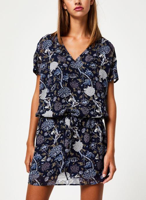Vêtements IKKS Women Robe MC BP30675 Bleu vue détail/paire