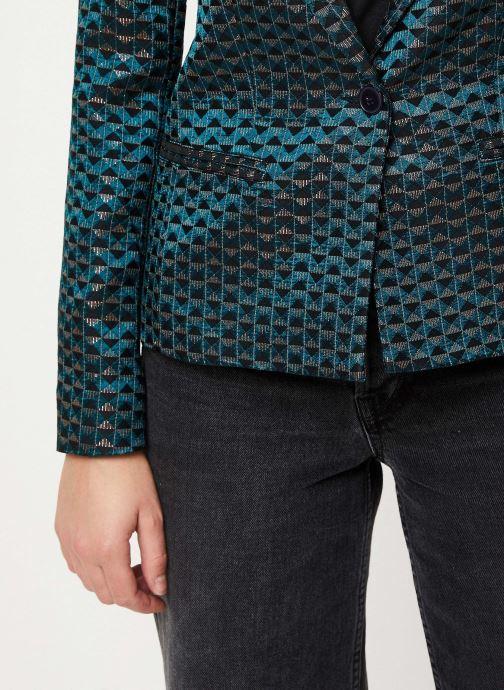 Vêtements IKKS Women Veste Tailleur Cyprès BP40005 Vert vue face