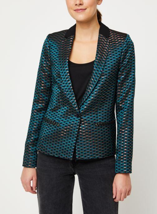 Vêtements IKKS Women Veste Tailleur Cyprès BP40005 Vert vue droite