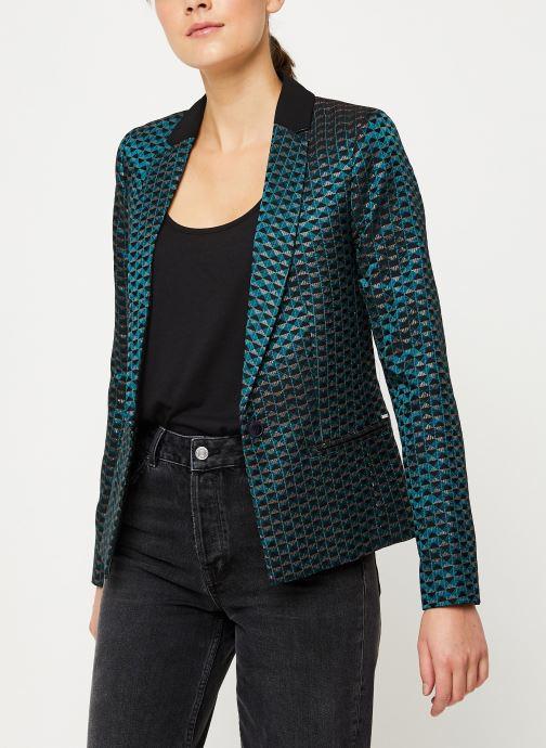 Vêtements IKKS Women Veste Tailleur Cyprès BP40005 Vert vue détail/paire