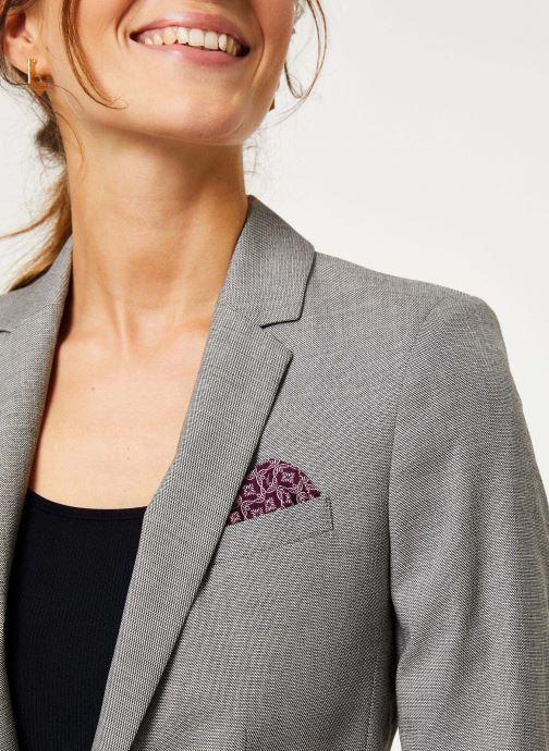 Vêtements IKKS Women Veste Tailleur Fil À Fil BP40025 Gris vue face