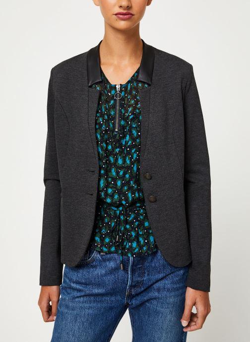 Vêtements IKKS Women Veste AnthraciteBP40045 Gris vue détail/paire