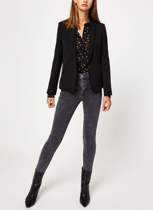 Vêtements IKKS Women Veste BP40065 Noir vue bas / vue portée sac
