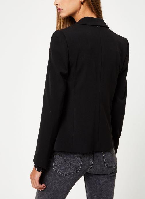 Vêtements IKKS Women Veste BP40065 Noir vue portées chaussures