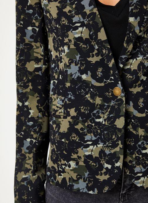 Vêtements IKKS Women Veste Camouflage BP40115 Vert vue face