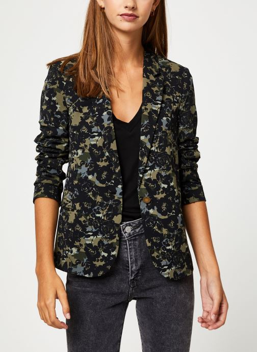 Vêtements IKKS Women Veste Camouflage BP40115 Vert vue droite