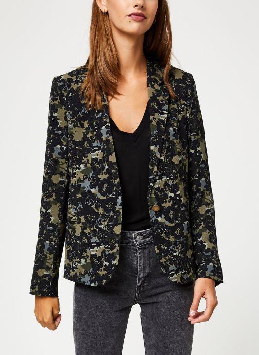Vêtements IKKS Women Veste Camouflage BP40115 Vert vue détail/paire