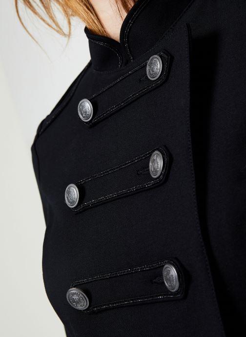 Vêtements IKKS Women Veste Officier BP40195 Noir vue face