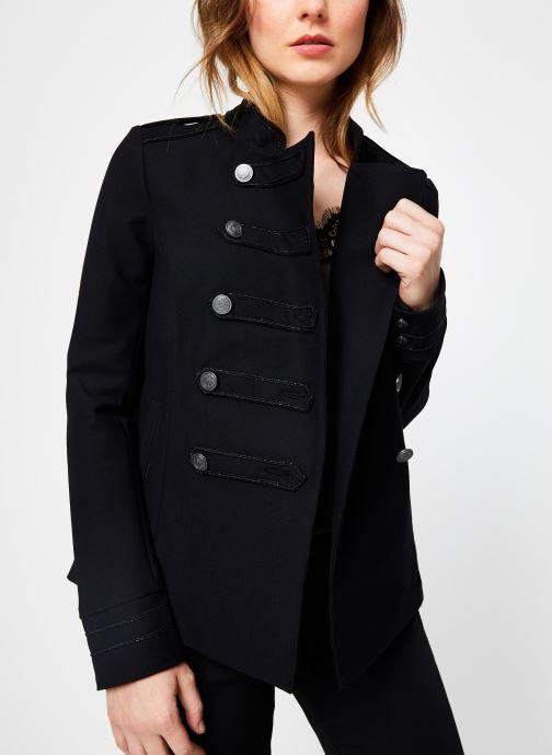 Vêtements IKKS Women Veste Officier BP40195 Noir vue droite