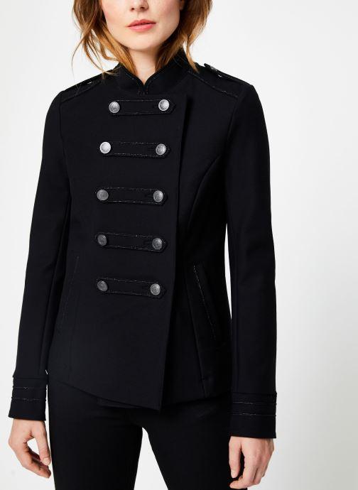 Vêtements IKKS Women Veste Officier BP40195 Noir vue détail/paire