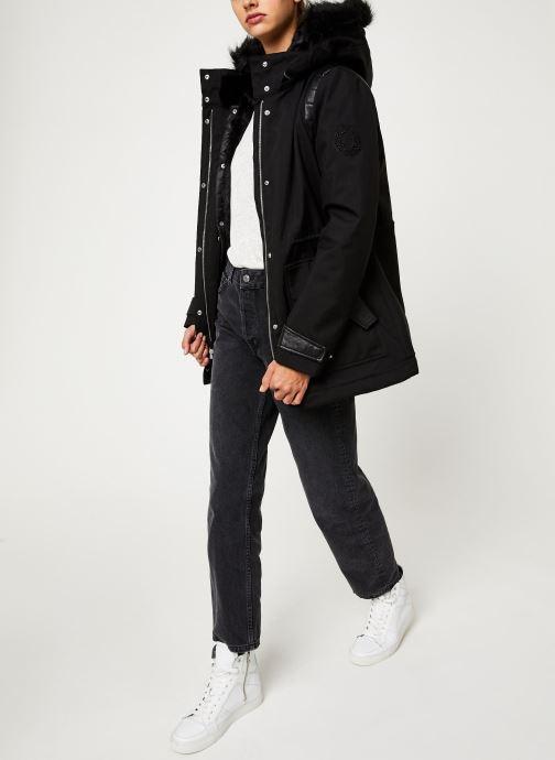 Vêtements IKKS Women Parka Premium BP42155 Noir vue bas / vue portée sac