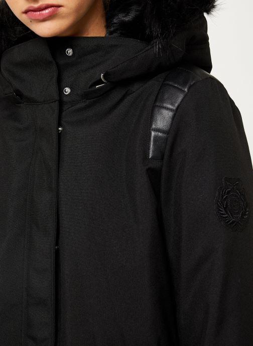 Vêtements IKKS Women Parka Premium BP42155 Noir vue face