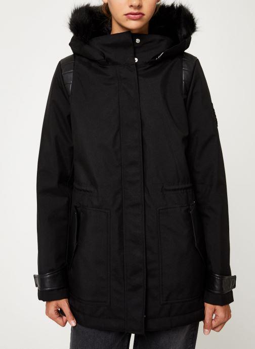 Vêtements IKKS Women Parka Premium BP42155 Noir vue droite
