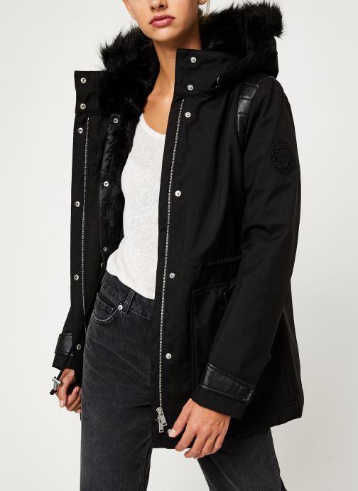 Vêtements IKKS Women Parka Premium BP42155 Noir vue détail/paire