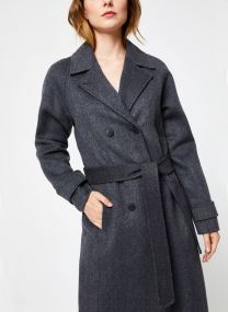 Manteau Long Gris BP44215