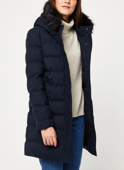 Vêtements IKKS Women Doudoune Longue BP45135 Bleu vue détail/paire