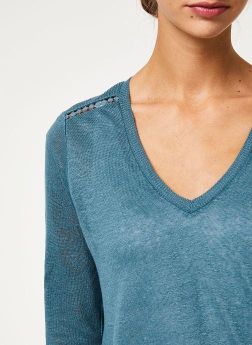 Vêtements IKKS Women Tee-Shirt ML BP10215 Vert vue face
