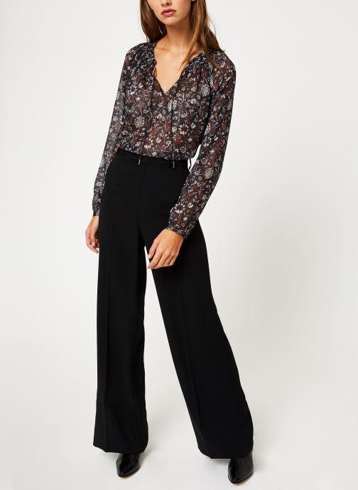Vêtements IKKS Women Blouse Imprimé BP13355 Noir vue bas / vue portée sac