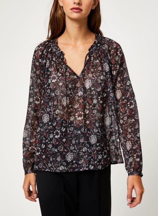 Vêtements IKKS Women Blouse Imprimé BP13355 Noir vue droite