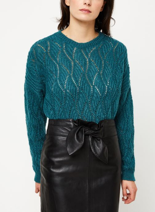 Vêtements IKKS Women Pull Mohair BP18405 Bleu vue détail/paire