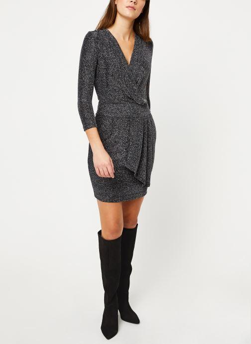 Vêtements IKKS Women Robe Mi-Cuisse Maille Lurex BP30695 Noir vue bas / vue portée sac