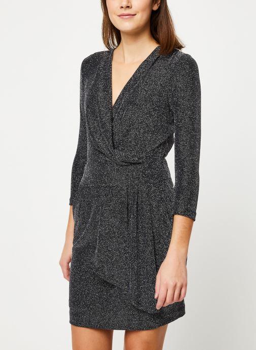 Vêtements IKKS Women Robe Mi-Cuisse Maille Lurex BP30695 Noir vue droite