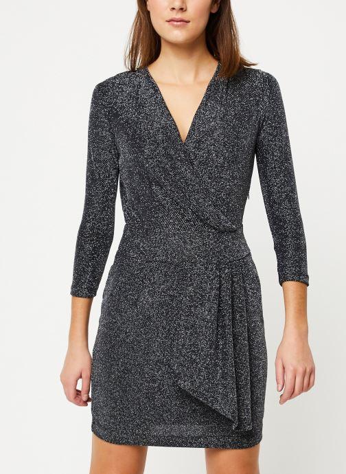 Vêtements IKKS Women Robe Mi-Cuisse Maille Lurex BP30695 Noir vue détail/paire