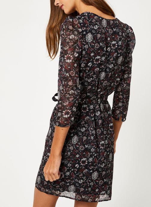 Kleding IKKS Women Robe Mi-Cuisse Imprimé BP30705 Zwart model