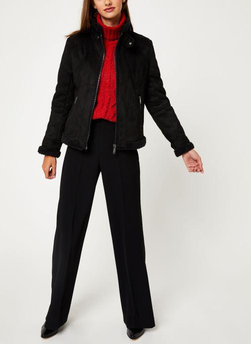 Vêtements IKKS Women Fausse Peau Retournée BP46045 Noir vue bas / vue portée sac