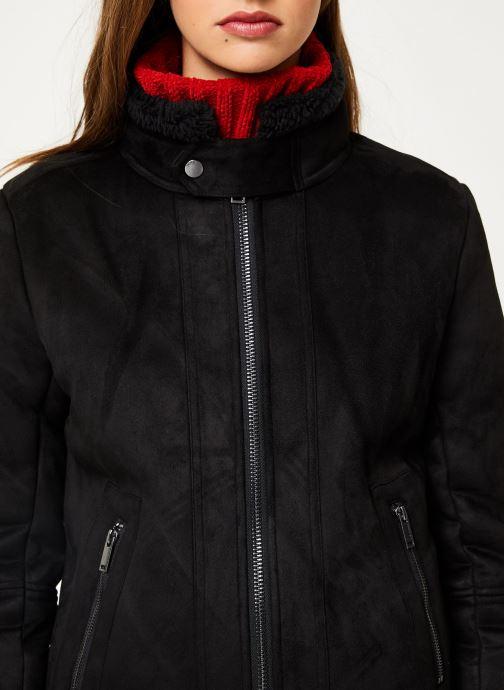 Vêtements IKKS Women Fausse Peau Retournée BP46045 Noir vue face