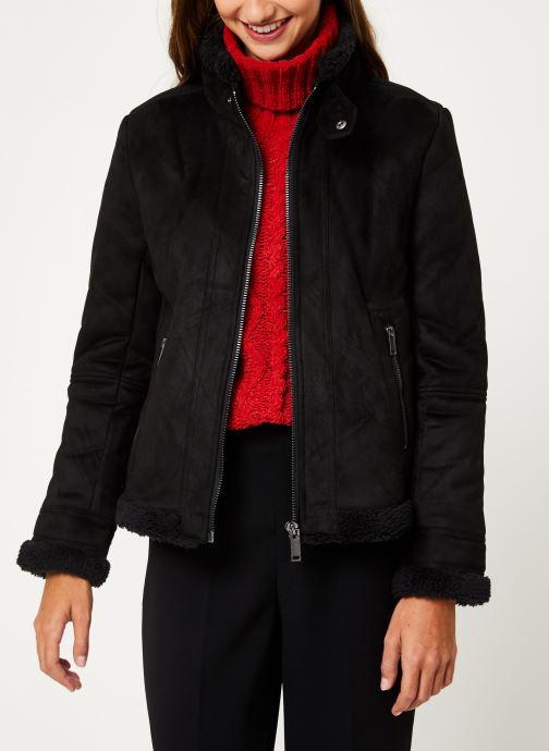 Vêtements IKKS Women Fausse Peau Retournée BP46045 Noir vue détail/paire