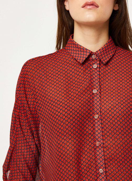 Vêtements Yuka BLOUSE BILLIE Rouge vue face
