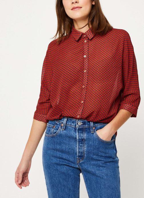 Vêtements Yuka BLOUSE BILLIE Rouge vue détail/paire