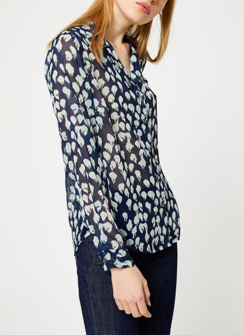 Vêtements Yuka BLOUSE BENJI Bleu vue droite