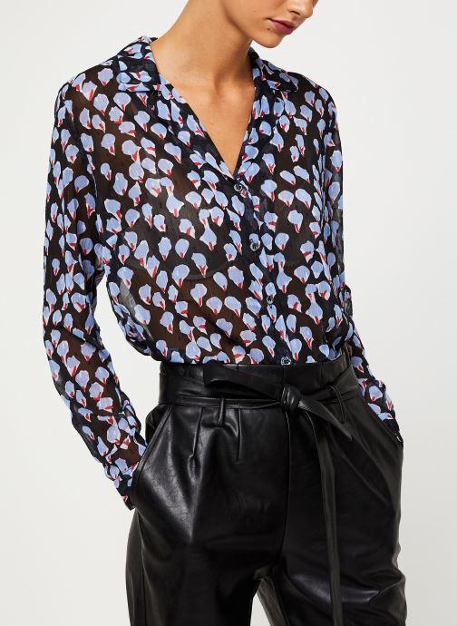 Vêtements Yuka BLOUSE BENJI Noir vue détail/paire