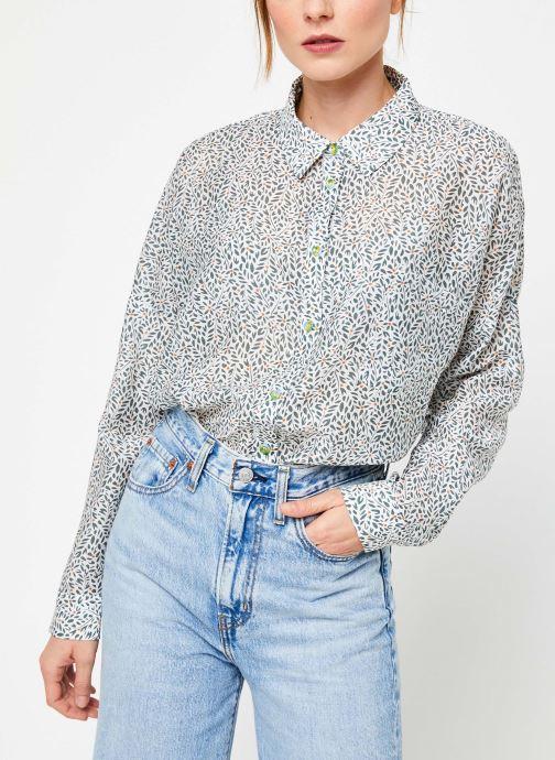 Vêtements Yuka BLOUSE BERENICE Beige vue détail/paire