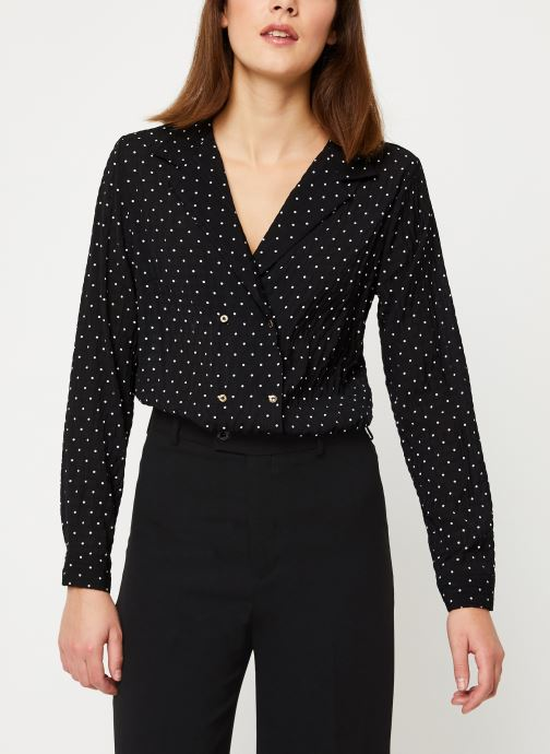 Vêtements Yuka BLOUSE BETY Noir vue détail/paire