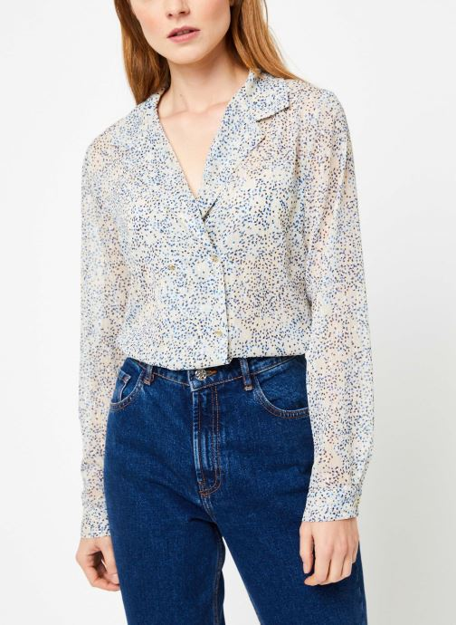 Vêtements Yuka BLOUSE BRINDILLE Beige vue détail/paire