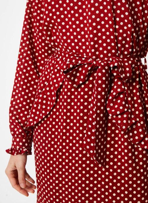 Vêtements Yuka ROBE RIO Rouge vue face