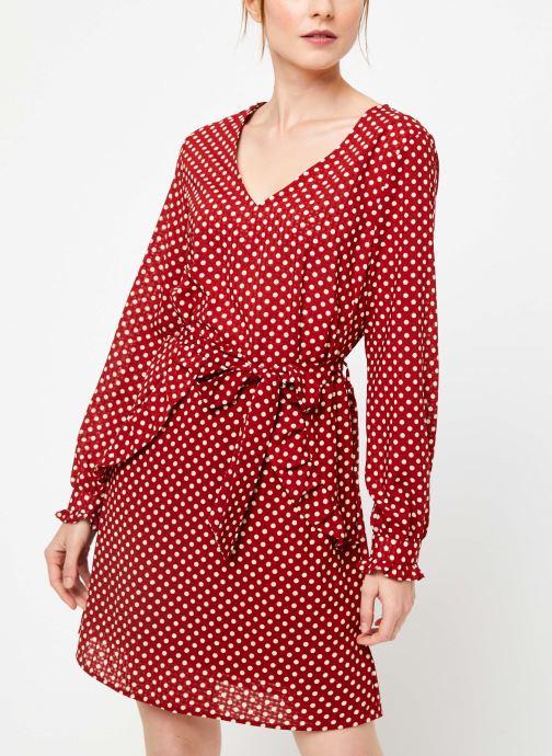 Vêtements Yuka ROBE RIO Rouge vue détail/paire