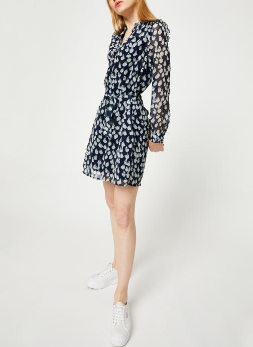 Vêtements Yuka ROBE ROXIE Bleu vue bas / vue portée sac
