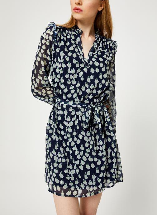 Vêtements Yuka ROBE ROXIE Bleu vue détail/paire