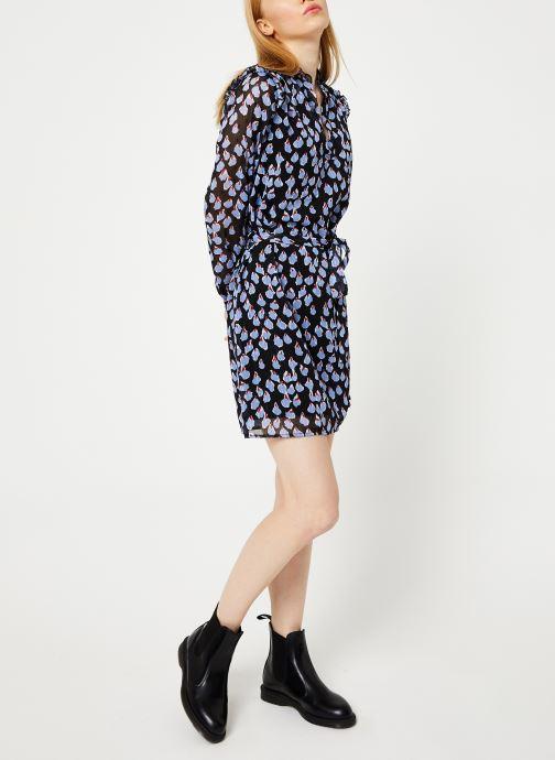 Vêtements Yuka ROBE ROXIE Noir vue bas / vue portée sac