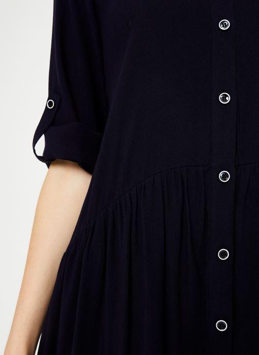 Vêtements Yuka ROBE RAFAELA Bleu vue face